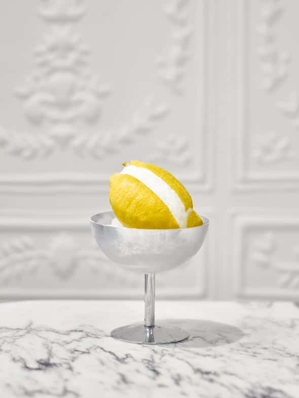 Fruttini citron et son sorbet.